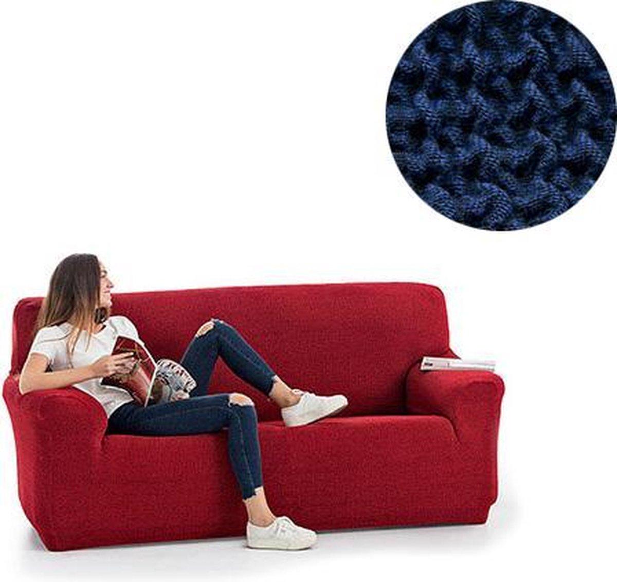 Milos meubelhoezen - Bankhoes 130-180cm - Blauw - Verkrijgbaar in verschillende kleuren!