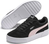 PUMA Carina Dames Sneakers - Puma Black-Rosewater-Puma Silver - Maat 38