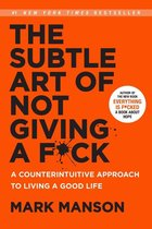 Boekomslag van 'The Subtle Art of Not Giving a F*ck'