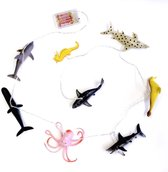 House of Disaster String Lights With Sea Creatures Sea Creatures