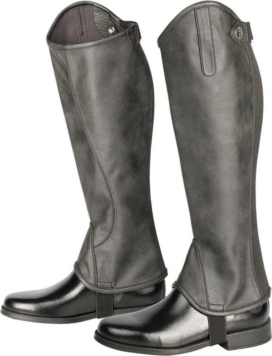 Harry's Horse Minichap Metallic zwart