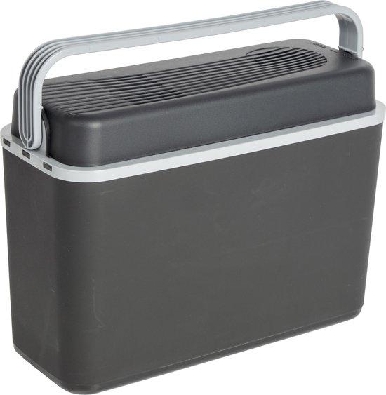 Bo-Camp Elektrische Autokoelbox Arctic - 12 volt - 12 Liter - Zwart/Grijs