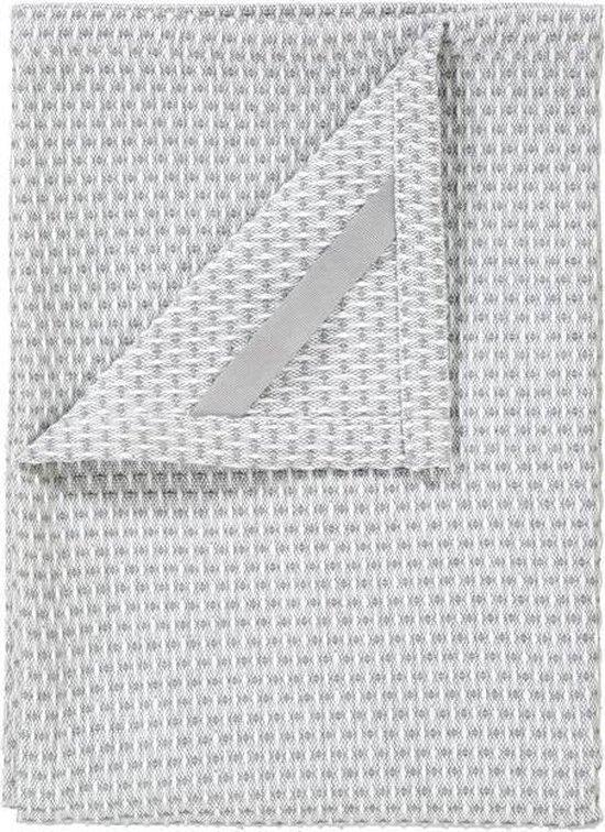 Blomus - Set 2 Tea Towels Lily White/Elephant skin RIDGE