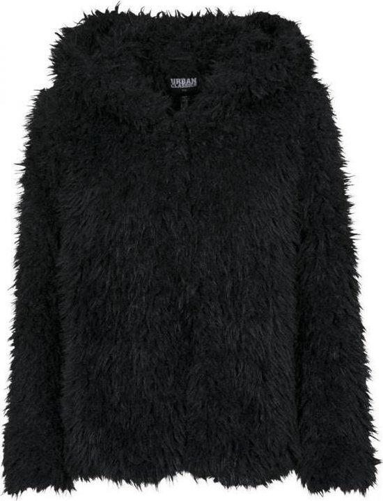 Urban classics Teddy Jacket Teddy Coat Teddycoat Dames Jack