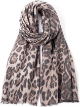 Sjaal Luipaard print – Dames Sjaal – 185 x 76 cm