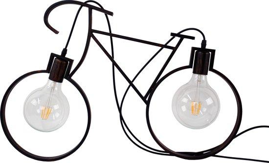 Unieke LED Racefiets | LED verlichting | Fietslamp | Hanglamp sfeer | Incl LED-lampen