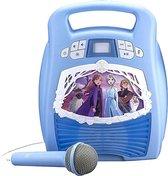 EKIDS Frozen 2 Bluetooth MP3 Karaoke met microfoon