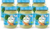 NaturNes® Bio Broccoli, Pastinaak, Kalkoen 8+ mnd babyvoeding biologisch - 6 potjes