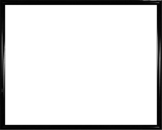 Homedecoration Biggy – Fotolijst – Fotomaat – 41 x 61 cm – Kunststof – Hoogglans zwart