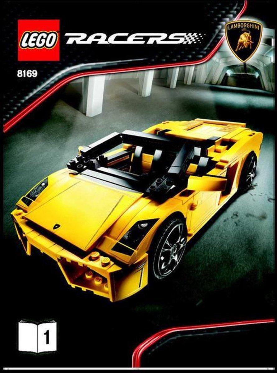 LEGO Racers Lamborghini Gallardo - 8169