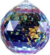 Raamhanger Swarovski Ball 20 mm AB ( Feng Shui kristal ) Raamkristal , Regenboogkristal