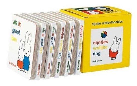 Nijntje uitdeelboekjes (box met 10 boekjes) - Dick Bruna |