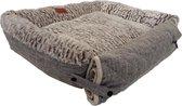 Cannie NEW Warme in de Winter Comfortabele Hondenmand - Hondenbed - Grijs 70x60xH16cm