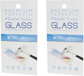 Samsung A10 Screenprotector - Glas - 2 stuks - Premium Tempered – 1 plus 1 gratis