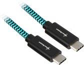 Sharkoon USB 3.1 kabel, USB-C > USB C kabel