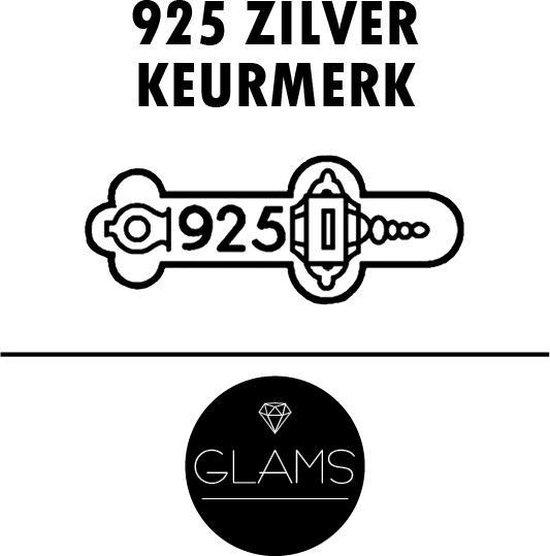 Glams Set van 3 oorringen - 925 Zilver