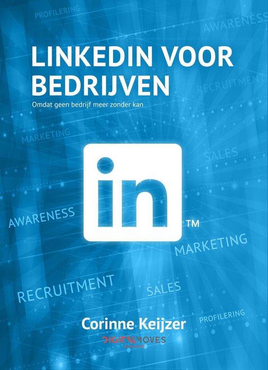 Boek cover LinkedIn voor bedrijven van Corinne Keijzer (Onbekend)