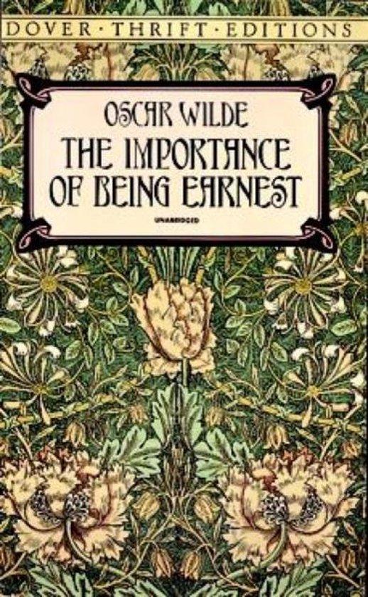 Boek cover The Importance of Being Earnest van Oscar Wilde (Paperback)