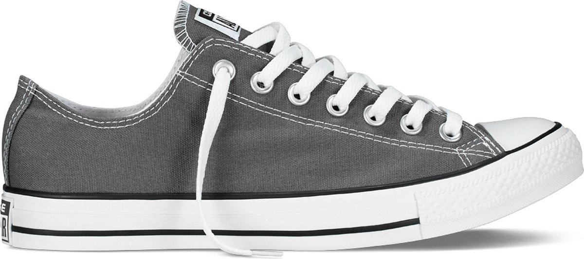Converse Chuck Taylor All Star Sneakers Laag Unisex - Charcoal  - Maat 42.5