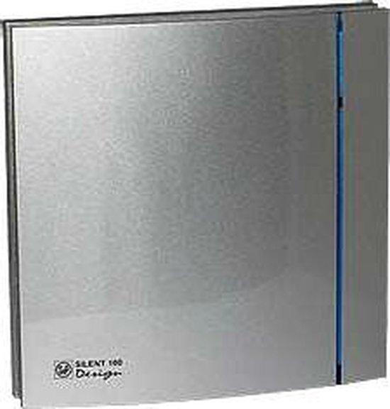 Soler & Palau Silent badkamerventilator Design 200cz zilver