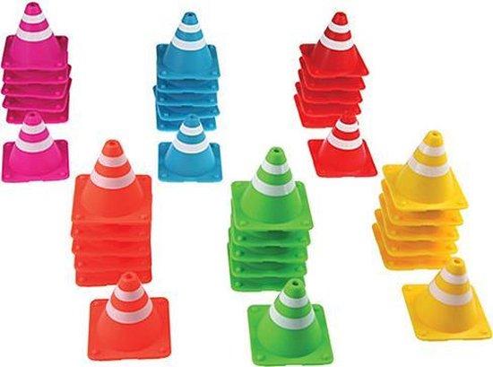 Thumbnail van een extra afbeelding van het spel Stapel Kegel - Stapel spel - multi kleuren