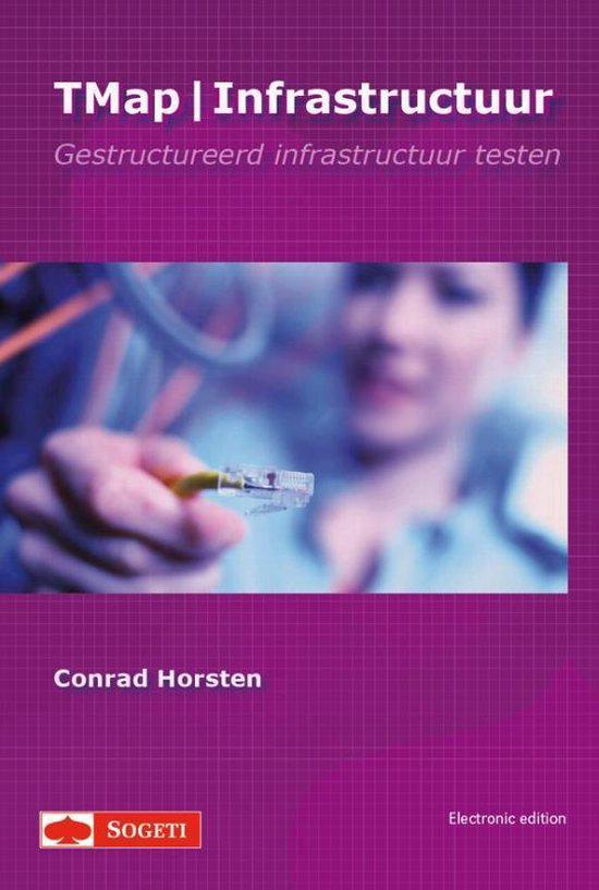 Boek cover TMap / Infrastuctuur van Conrad Horsten (Hardcover)