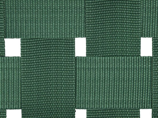 Bench Weave wood dark green nylon - Leitmotiv