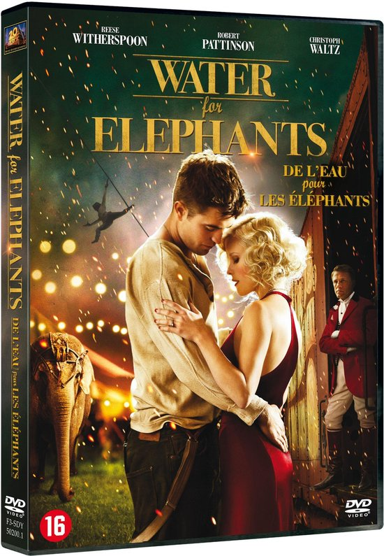 Cover van de film 'Water For Elephants'