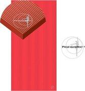 Trendy Sport Reha Mat - Fitnessmat - 200 cm x 100 cm x 2,5 cm - Rood