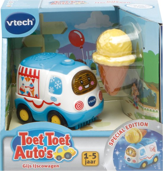 VTech Toet Toet Auto's Gijs IJscowagen - Speelfiguur