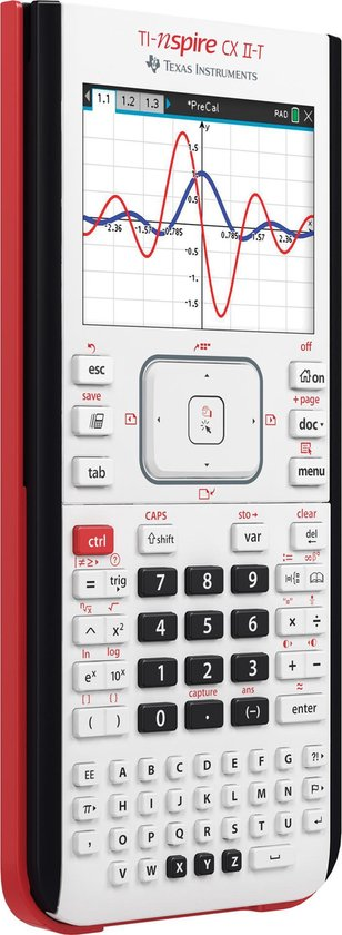 Texas Instruments Nspire CX II-T - Nieuw Model (2019)