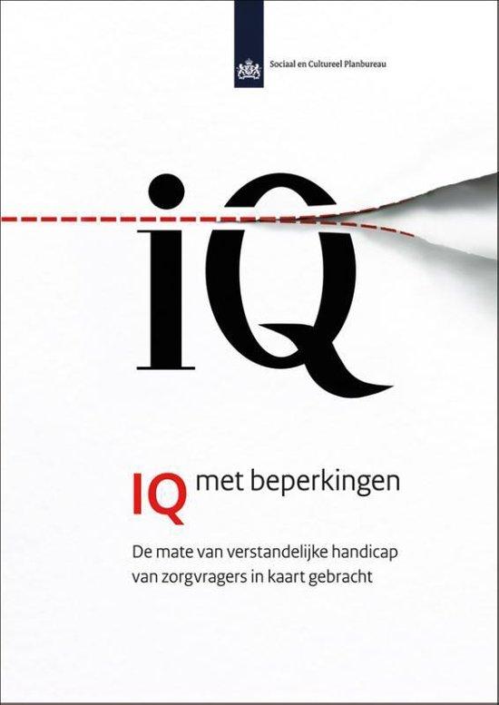 SCP-publicatie 2012-9 - IQ met beperkingen - Isolde Woittiez | Fthsonline.com