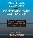Boek cover Political Economy and Contemporary Capitalism van Ron P. Baiman