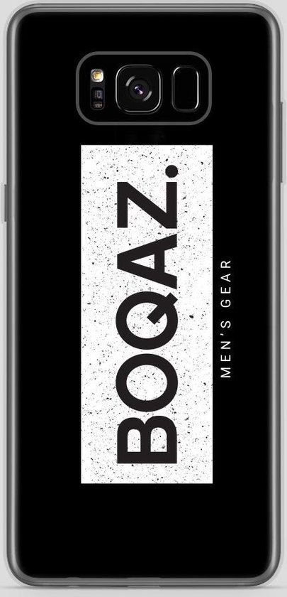 BOQAZ. Samsung Galaxy S8 hoesje - Labelized Collection - Grunge print BOQAZ