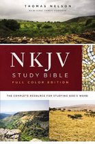 NKJV Study Bible, Hardcover, Burgundy, Full-Color, Comfort Print