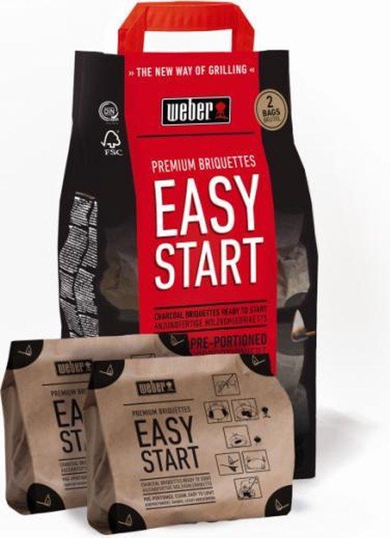 Weber Easy Start Houtskool