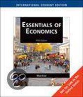Boek cover Essentials Of Economics van N. Mankiw
