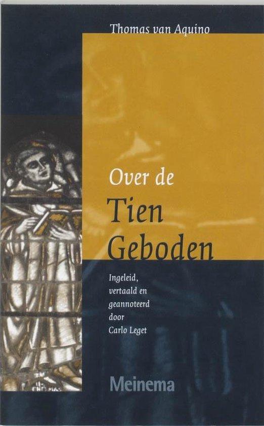 Vertalingen van het Thomas Instituut te Utrecht 1 - Over de Tien Geboden - T. van Aquino   Readingchampions.org.uk
