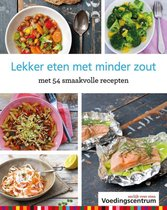 Boek cover Lekker eten met minder zout van Stichting Voedingscentrum Nederl (Hardcover)