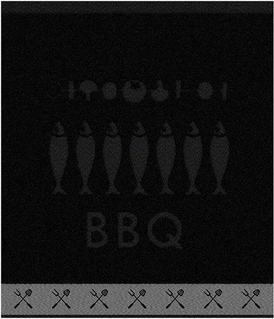 DDDDD Foodbar - Keukendoek - 50x55 cm - Set van 6 - Black