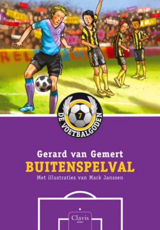 De voetbalgoden 7 - Buitenspelval - Gerard van Gemert |