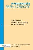 Boek cover Faillissement, surseance van betaling en schuldsanering van A.M.J. Buchem-Spapens (Paperback)