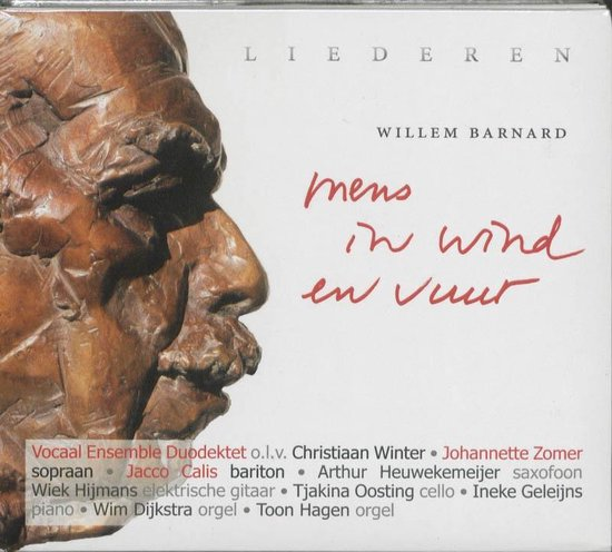 Boek cover Mens in wind en vuur van Willem Barnard (Onbekend)