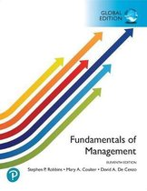 Fundamentals of Management, Global Edition