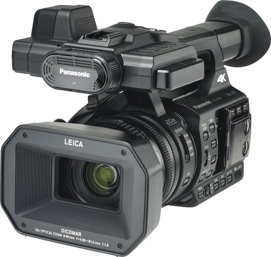 Panasonic HC-X1000 - 4K/Ultra HD Camcorder - Zwart