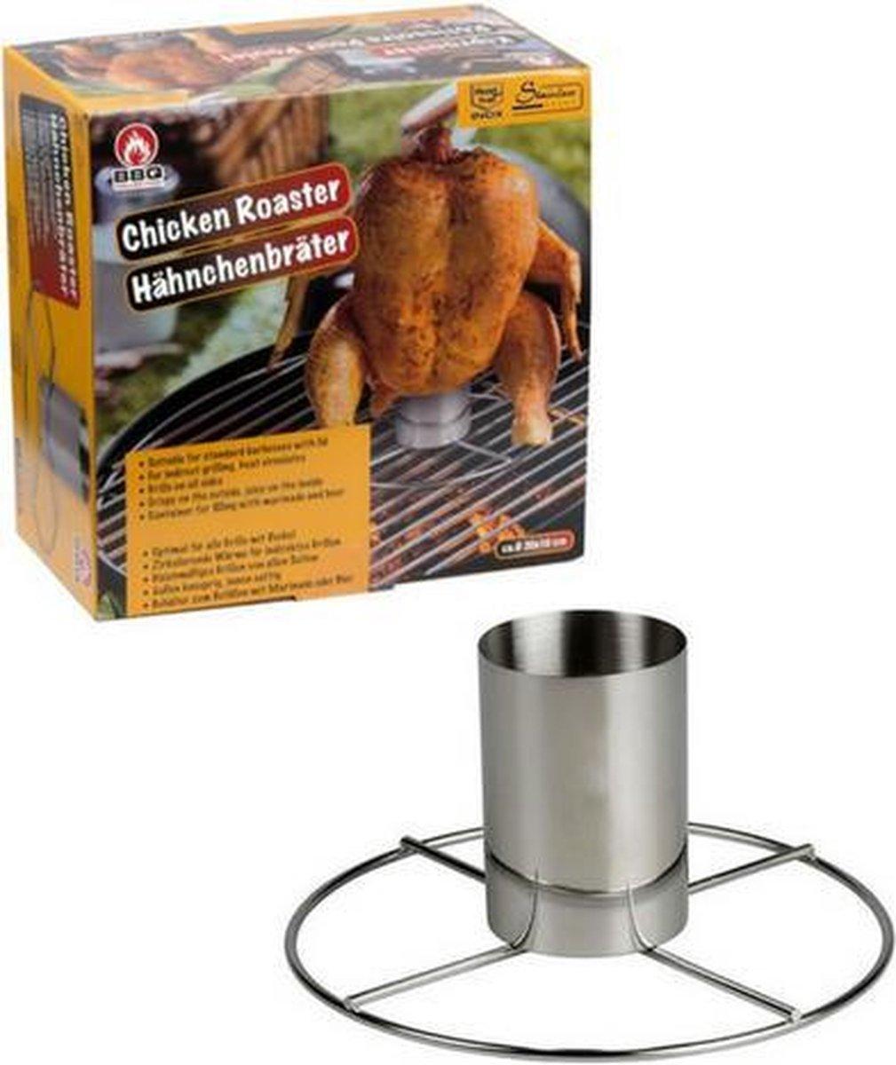 Kiprooster BBQ   Kip grillen   Kip op de BBQ   BBQ met deksel   Bierkip  