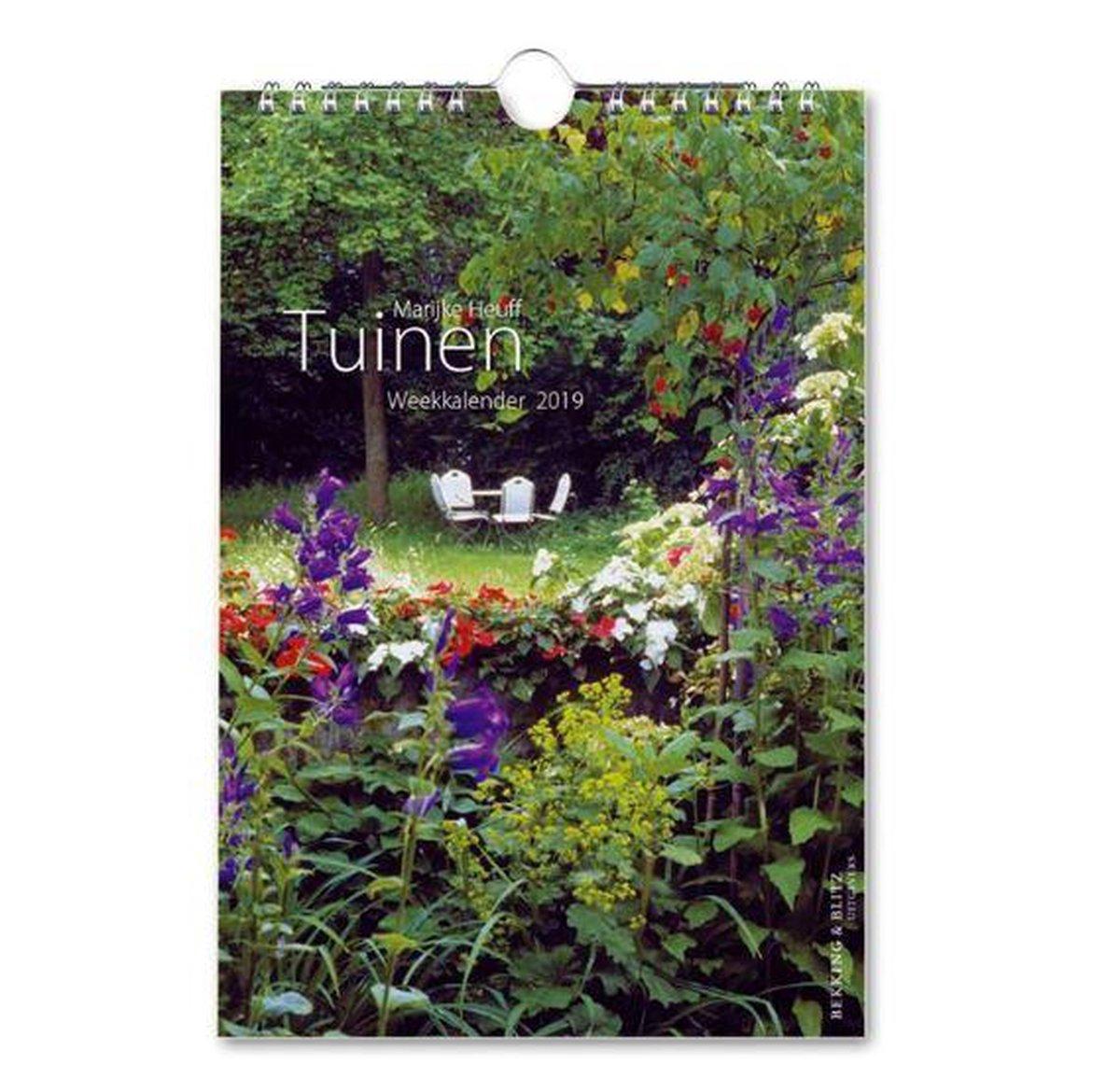 Weekkalender 2019 tuinen marijke heuff - Bekking & Blitz