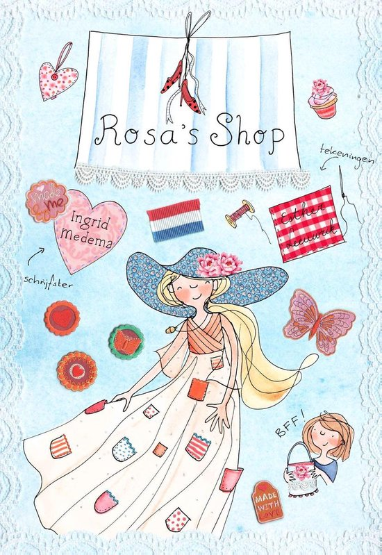 Rosa 5 - Rosa's shop - Ingrid Medema |