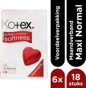 Kotex Maxi Normal Maandverband 18x6