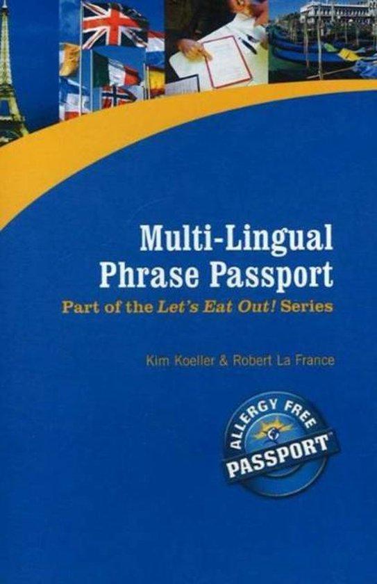 Boek cover Multi-Lingual Phrase Passport van Kim Koeller (Paperback)